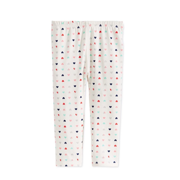 First Impressions Other - NWT First Impressions Hearts Print Leggings 18mo